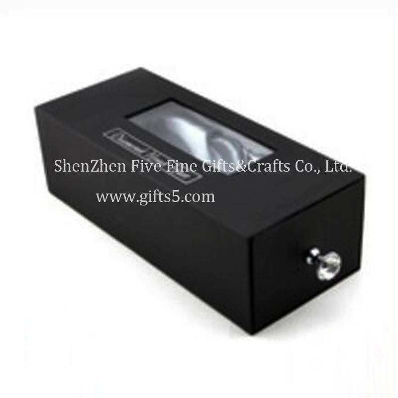 Luxury Hair Extension Packaging Box With Satin Lining And Diamond Handle